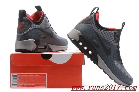 hot sale online af3e4 4381b Nike Air Max 90 Men MID Wntr Nike Sneakers, Cheap Nike Trainers, Running  Shoes