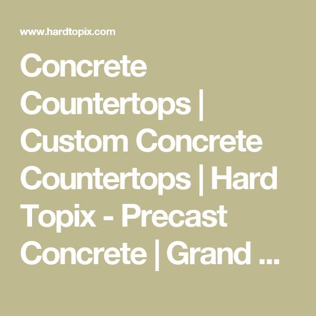Concrete Countertops | Custom Concrete Countertops | Hard Topix ...