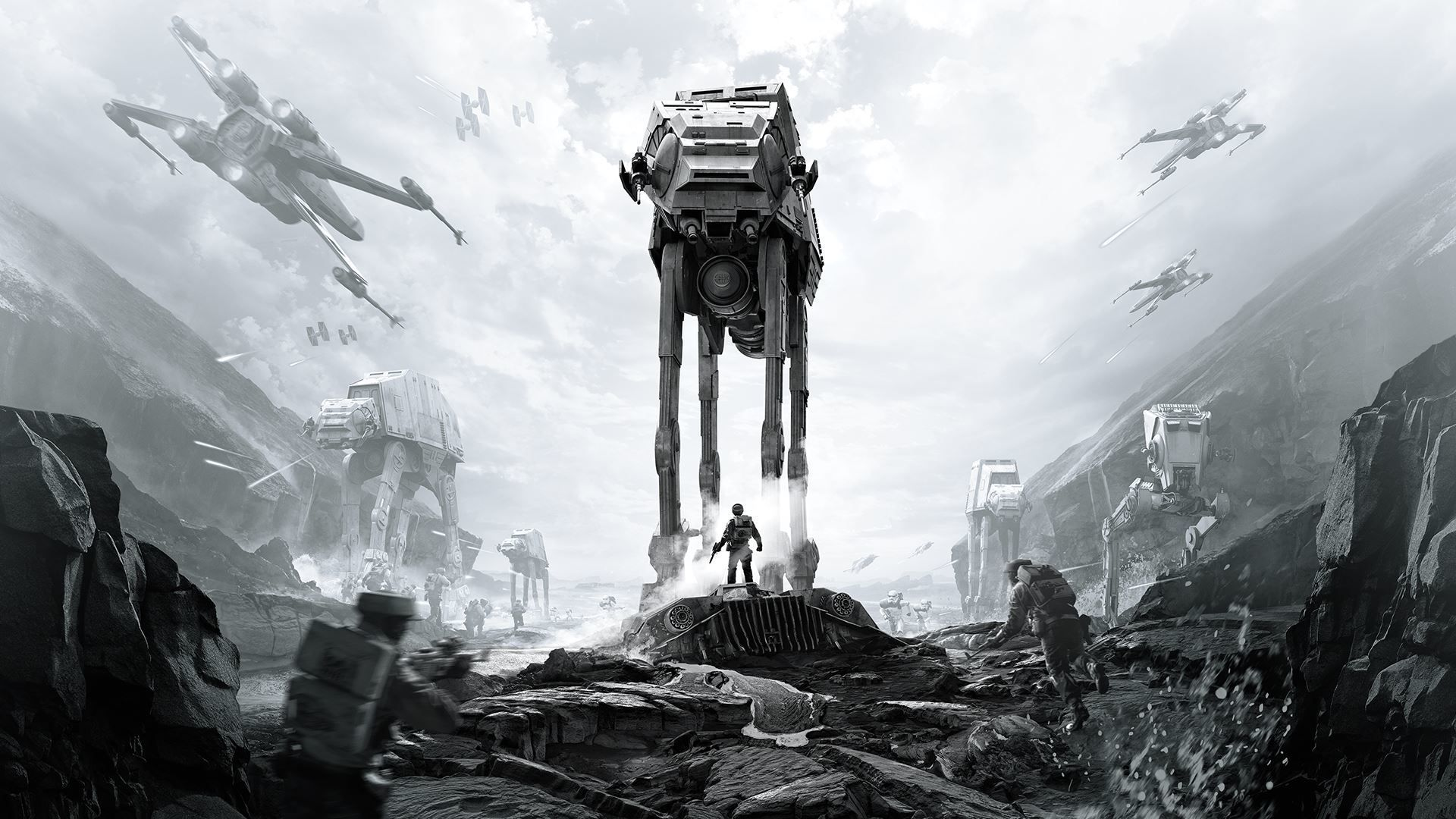 Star Wars Battlefront New Hd Wallpaper Star Wars Wallpaper Star