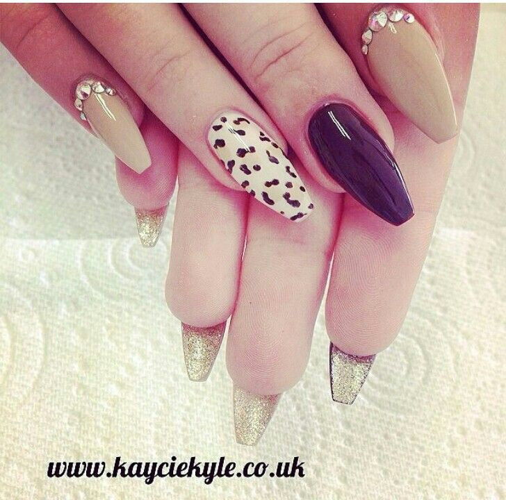 Type Of Acrylic Nail Shapes - http://www.mycutenails.xyz/type-of ...