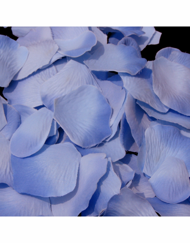 Periwinkle Rose Petals For The Flower Girl Basket Flower Girl Petals Periwinkle Wedding Blue Hydrangea Wedding