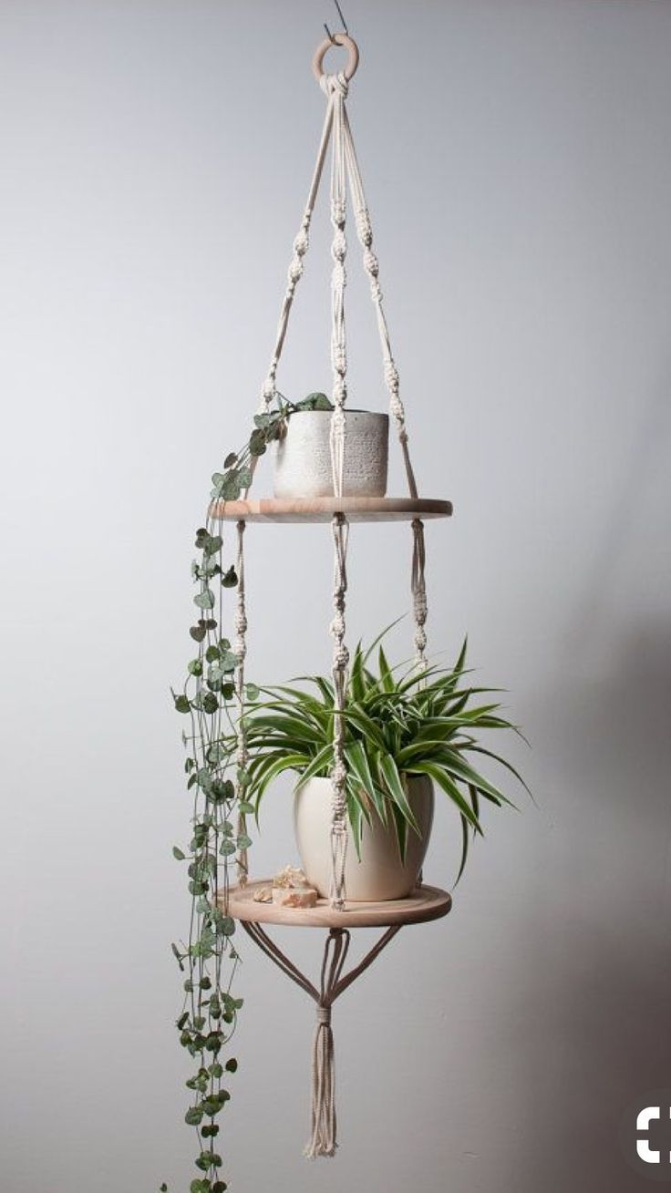 Macrame idea - Martina De Kloet #patioplants