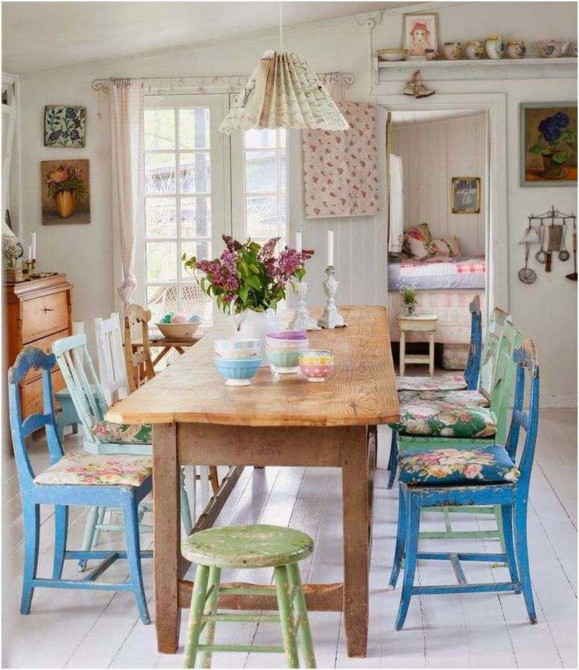 Petit Cottage Anglais Photo Coin Repas Style Anglais Cuisine Style Cottage Dining Room Design Dining Room Design Modern Vintage Dining Room