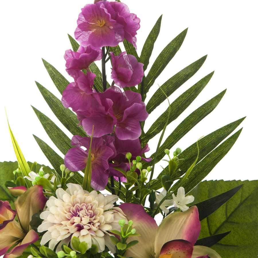 Ramos todos los santos ramo cementerio flores for Orquideas artificiales
