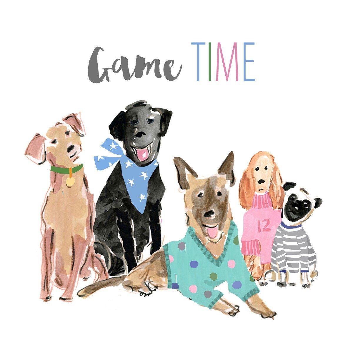Watercolor Dogs, Digital Clip Art Dog Breeds, Watercolor