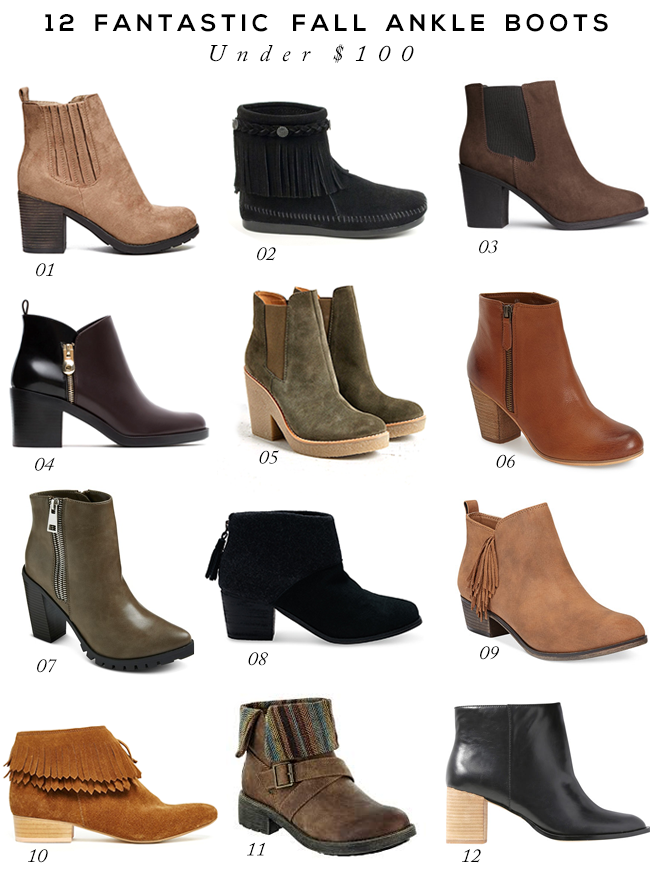 1000  ideas about Fall Ankle Boots on Pinterest | Ankle boots ...