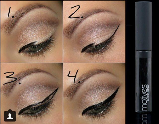 25+ bästa Eyeliner tutorial idéerna på Pinterest ...