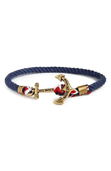 Kiel James Patrick Union Jack Bracelet