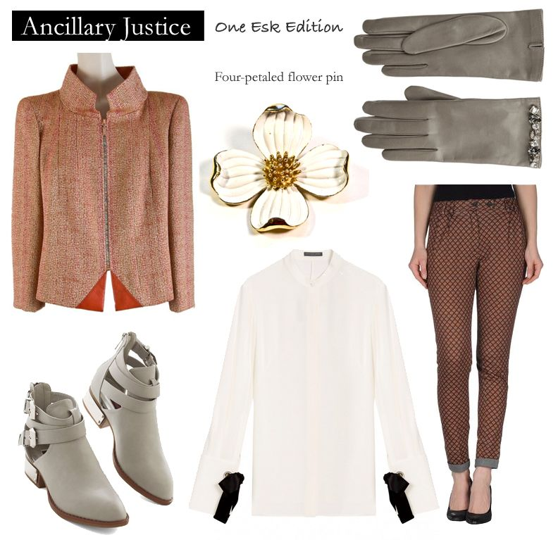 Outfit Inspired By Ann Leckie S Ancillary Fictiontofashion Outfits Fashion Ann Leckie