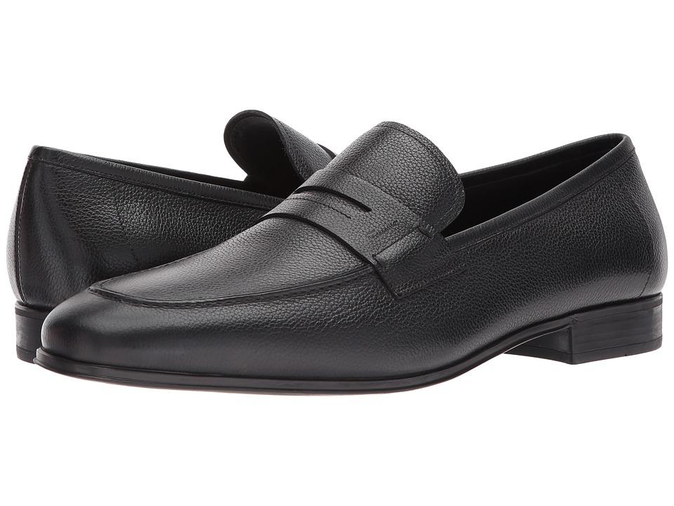 4abae0d789a Salvatore Ferragamo Fiorino Loafer Men s Slip on Shoes Nero ...