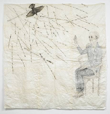 replek: yama-bato: Visitation of the Bird II Kiki Smith 2007 (via pollygannon)