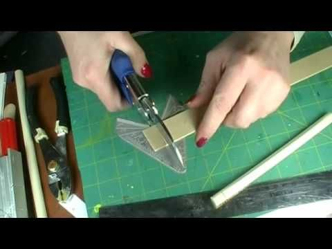 Tips for cutting when making miniatures. This tutorial is just what I needed!