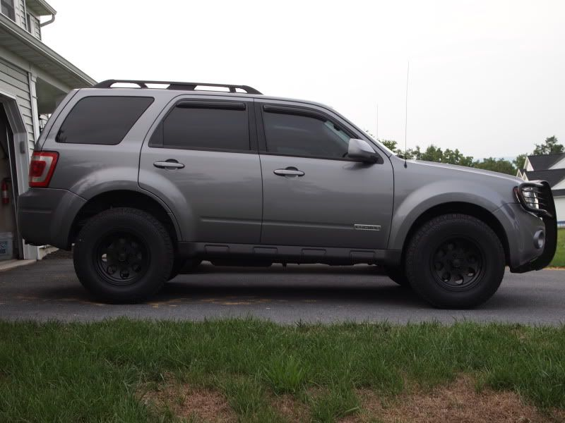 Ford Escape 4x4 Lifted Re Spring Question Ford Escape Ford Escape Accessories Ford Escape Xlt