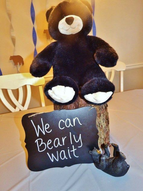 39 Ideas For Baby Shower Ideas For Boys Themes Teddy Bears Party Planning #babyteddybear