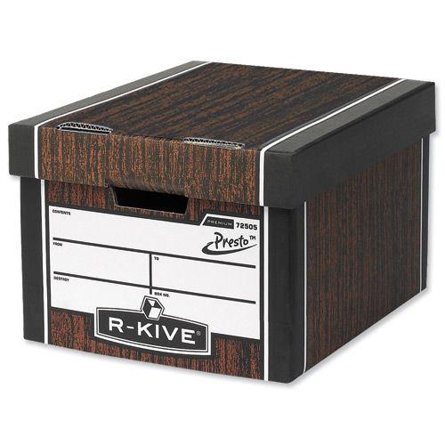 Sherlock's R-Kive mover's/banker's box from ASiP