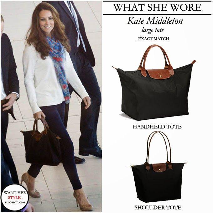 fbd90984b9 Longchamp Le Pliage and Kate Middleton   Longchamp   Fashion ...