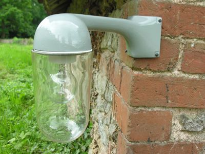 Factory exterior corner light grey front porch pinterest yards factory exterior corner light grey aloadofball Images