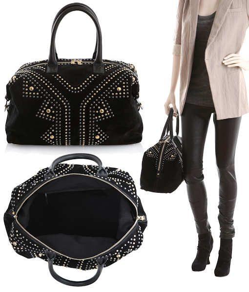 bf4ac192a6e YSL Easy Rock Bag. YSL Easy Rock Bag Louis Vuitton Monogram, Ysl, Black  Suede, Yves Saint Laurent