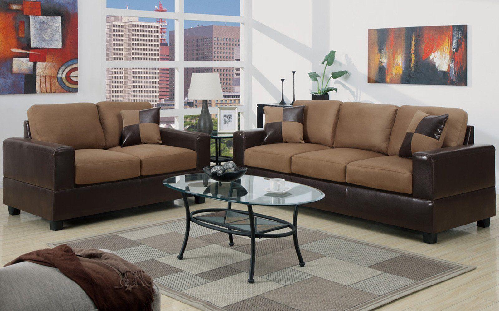 Kuki Modern 2PC Livingroom Set