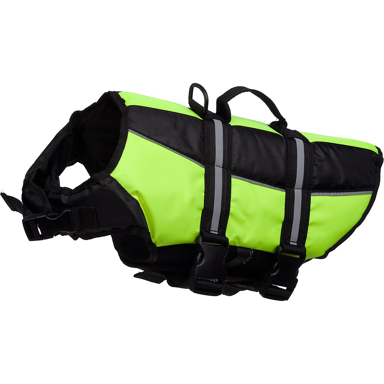 Petco Yellow Dog Flotation Vest. My water loving pooch