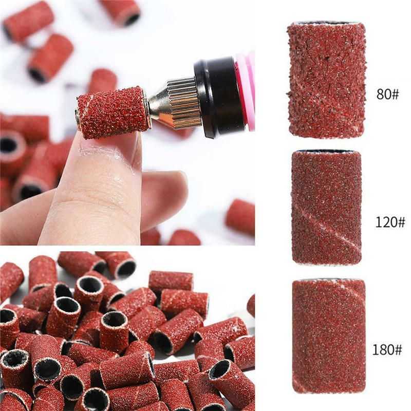 300pcs D7 7mm 80 120 180 Grit Sanding Band Machine Replacement Drum Sandpapers Sanding Kit Tool Accessories From Tools Industrial Scientific On Banggood Com In 2020 With Images Band Sanding Drums