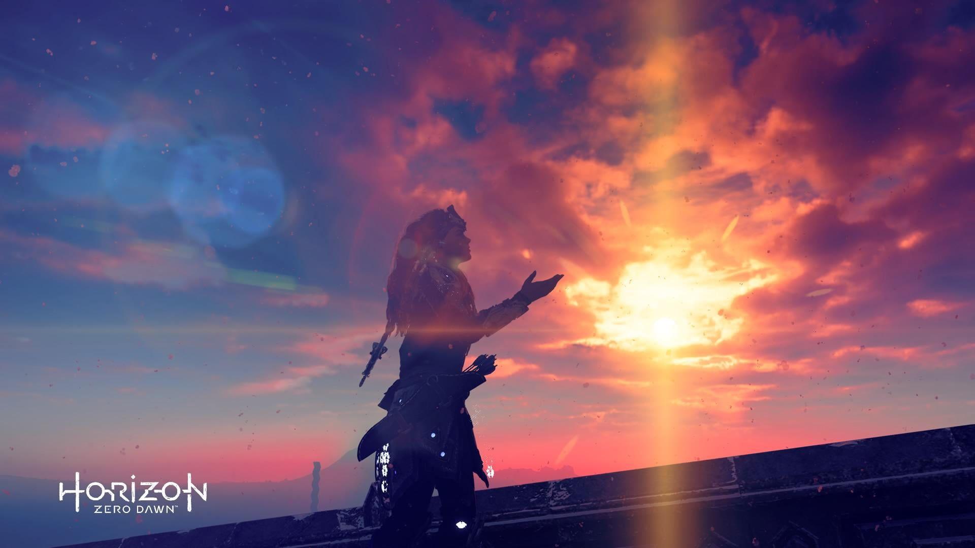 HD wallpaper: Horizon Zero Dawn digital wallpaper, Horizon: Zero Dawn, PlayStation 4
