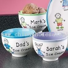 Personalized Family Ice Cream Bowls wholesale| China promotional ...