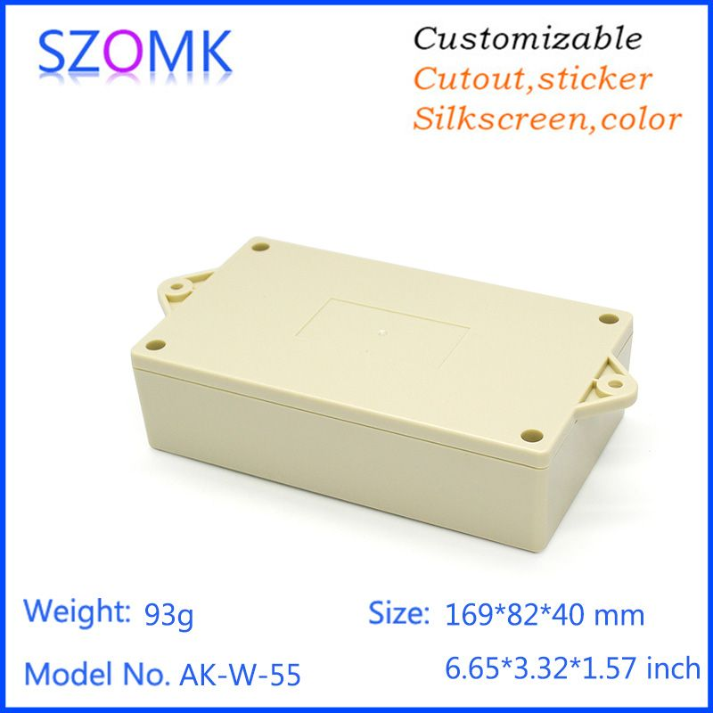 Plastic Enclosure For Pcb Power Shell Electric Project Box Diy For Plastic Wall Mount Instrument Enclosure Szomk Control Box Diy Box Wall Mount Shells