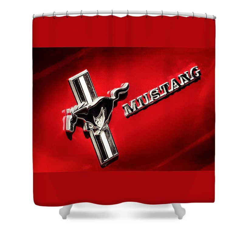 Mustang Shower Curtain For Sale By Caitlyn Grasso Mustang
