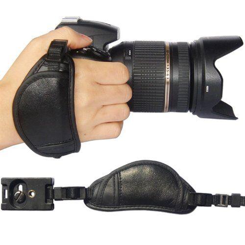 First2savvv OSH0701 Professional Wrist Grip black genuine leather hand Strap for Nikon D3000 D700 D300s D3X D3S first2savvv http://www.amazon.com/dp/B00IMR1TWQ/ref=cm_sw_r_pi_dp_w3QAub1RWMJKJ