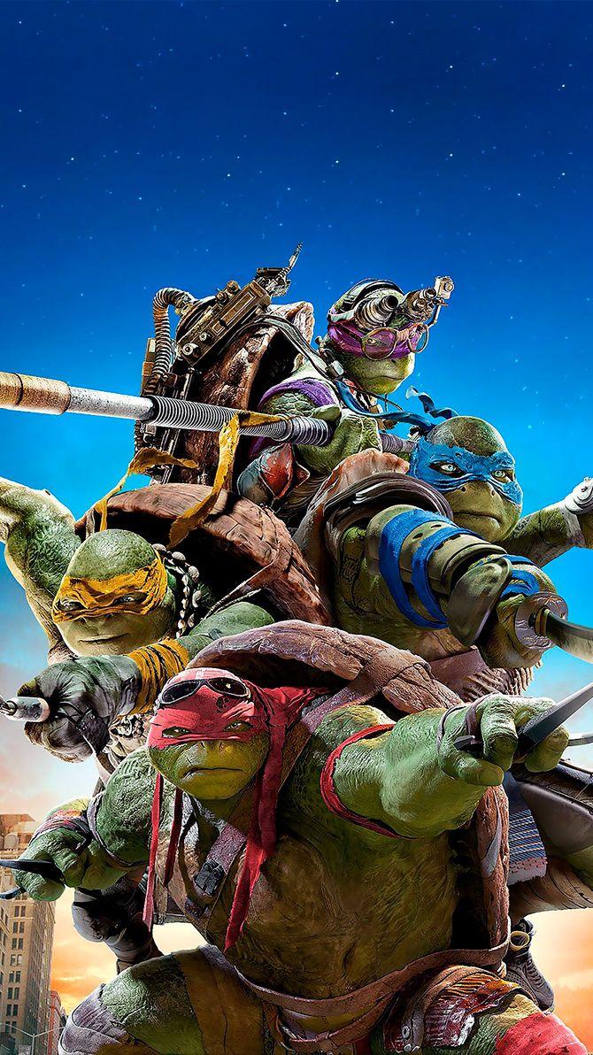 Teenage Mutant Ninja Turtles (2014) Phone Wallpaper