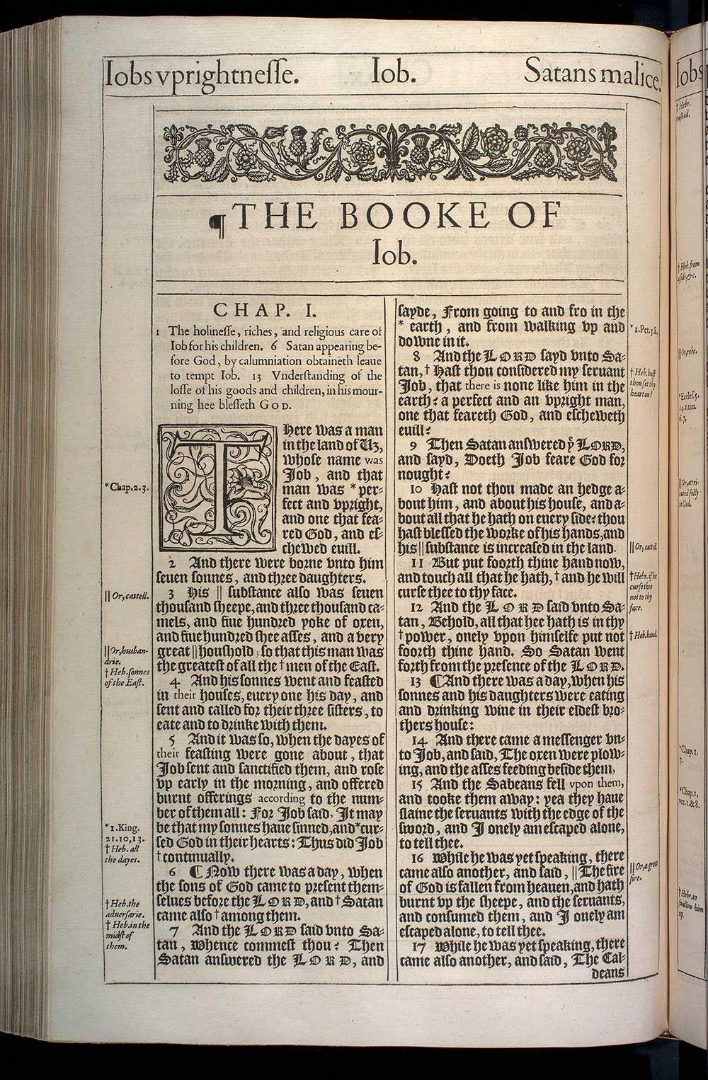 Job chapter 1 (original 1611 kjv) - King James Bible