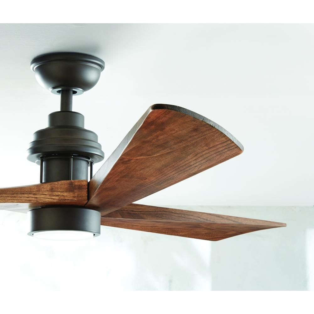 home decorators collection fortston 60 in led espresso bronze ceiling fan - Home Decorators Collection Lighting