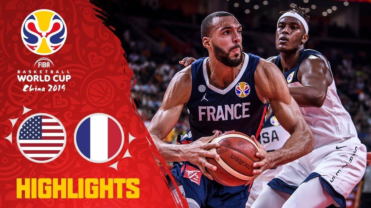 USA v France Highlights QuarterFinals FIBA