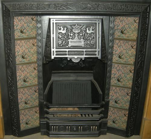 Walter Crane S Birds Design Here Installed As A Fireplace Tile