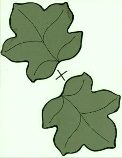 Pumpkin Leaf Printable Clipart