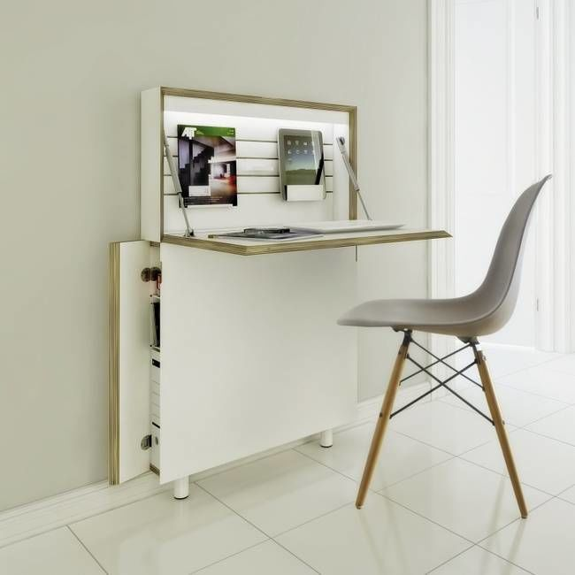 This Compact Workstation Is Designed For Small Es Design Trendhunter