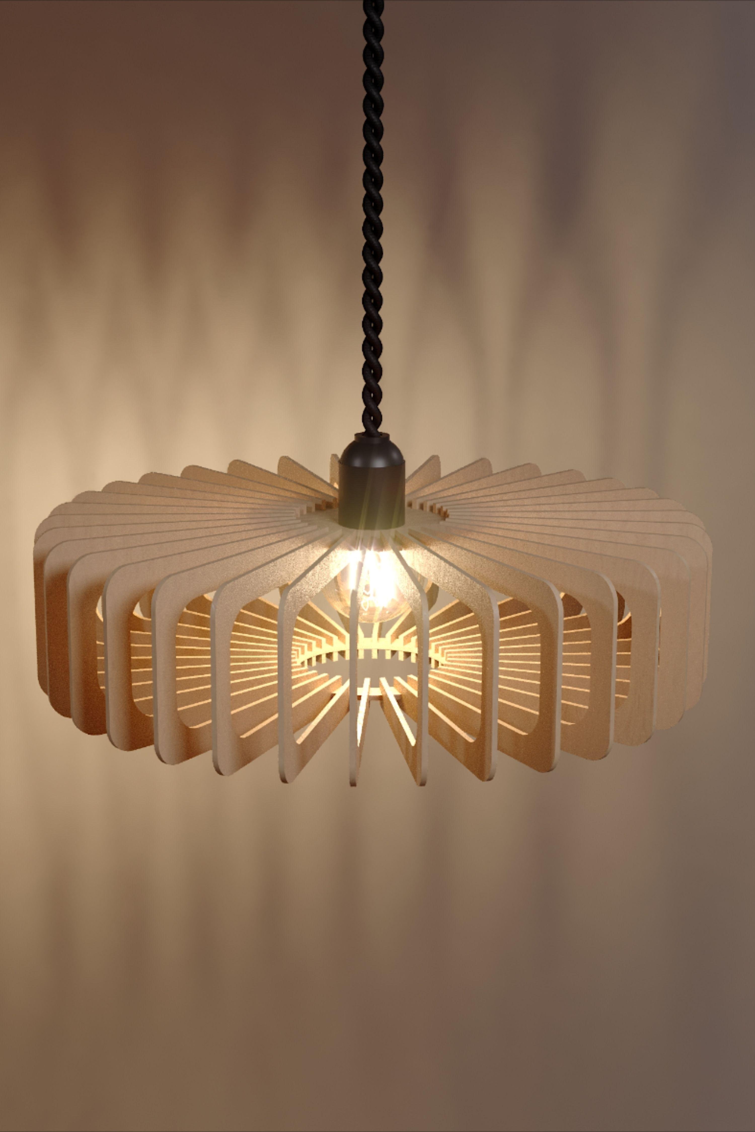 Geometric Wood Lamp Vasilek Shade Lamp Plywood Lamp Ceiling Etsy In 2020 Wood Lighting Design Wood Lamps Modern Lamp Shades