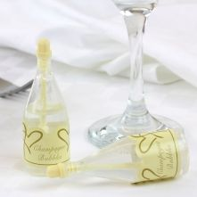 Ivory Champagne Bubbles