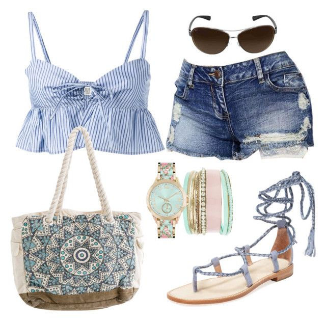 """Casual"" by alice-fortuna on Polyvore featuring Joie, Maryam Nassir Zadeh, Jessica Carlyle, Billabong and Ray-Ban"