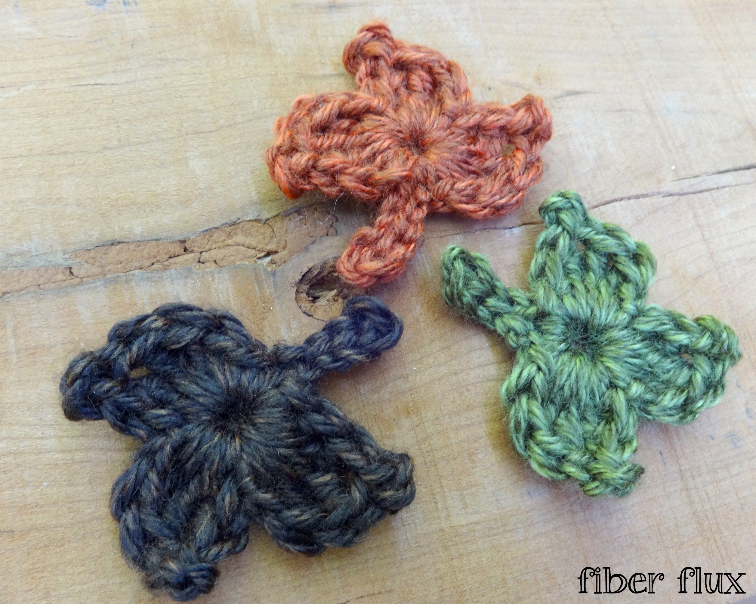 Episode 121: How To Crochet A One Round Fall Maple Leaf