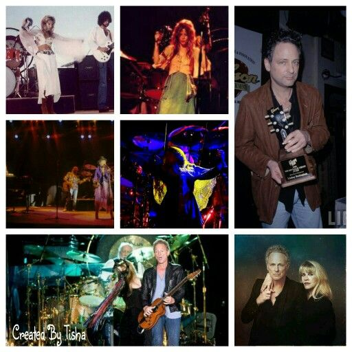 Fleetwood Mac Collage Created By Tisha 06/02/15