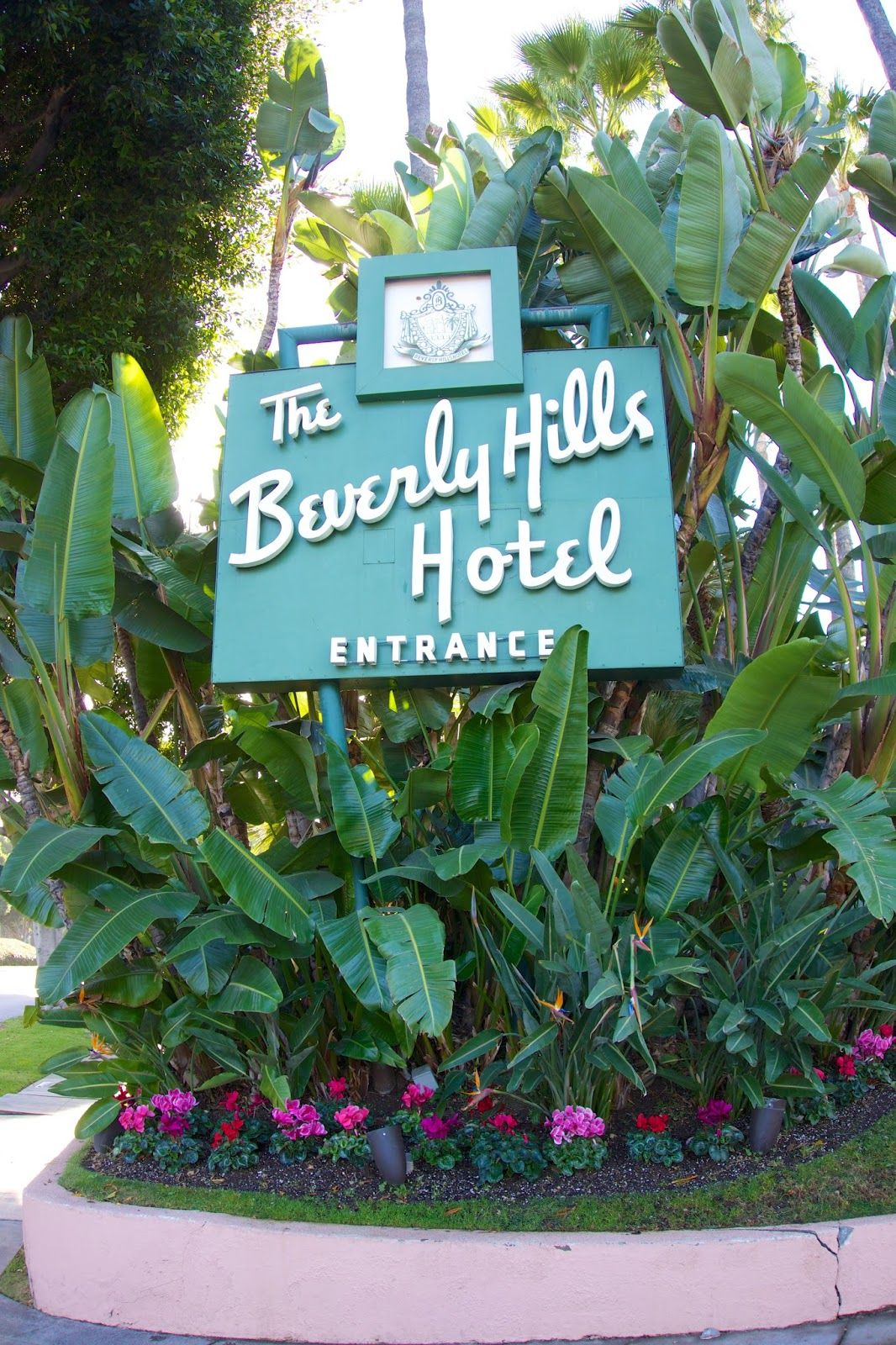 The Beverly Hills Hotel been here to visit the rich relatives and