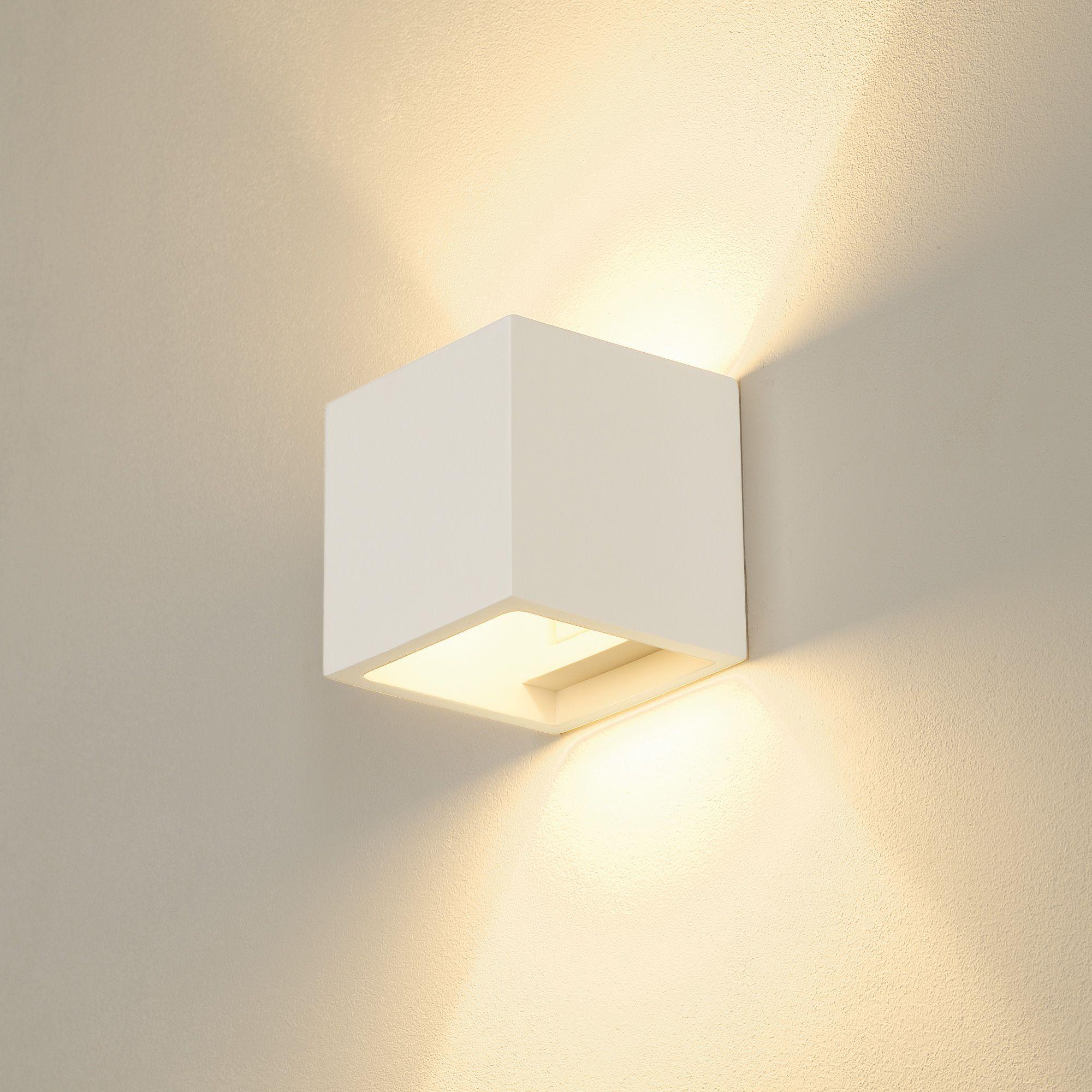 Slv Plastra Cube Wandleuchte Illuminazione A Parete Illuminazione Soffitto Illuminazione Faretti