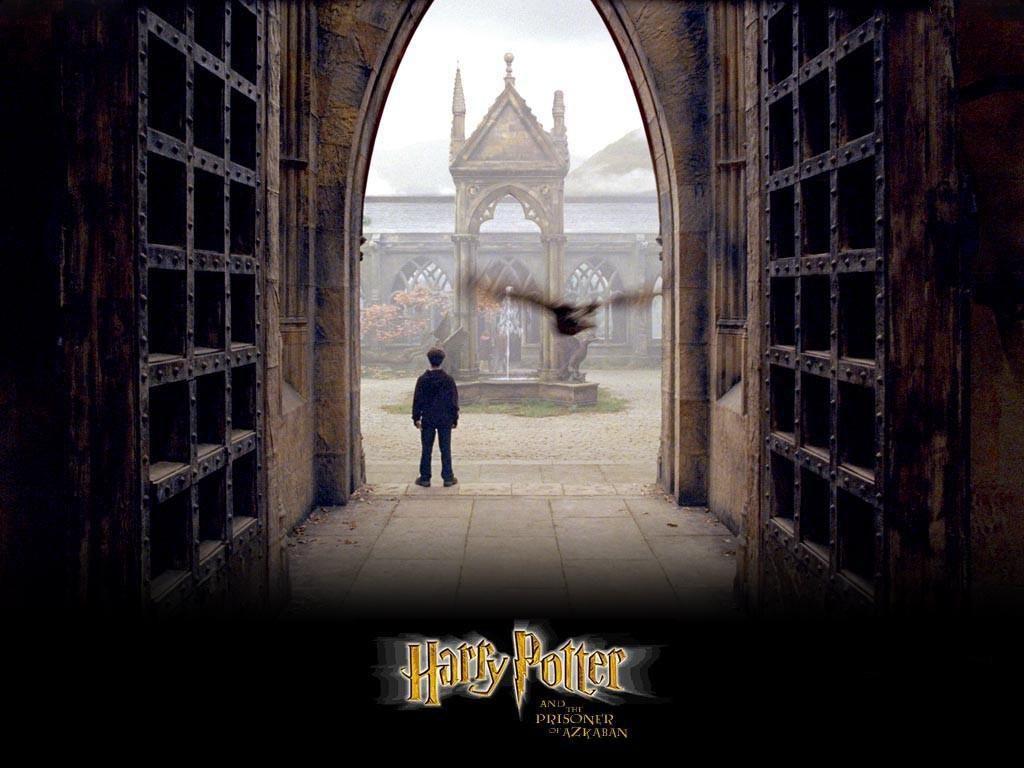 Harry Potter Hogwarts Innenhof Hof