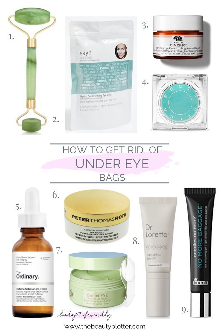 HOW TO GET RID OF UNDER EYE BAGS | The Beauty Blotter -   25 how to get rid of bags under eyes ideas