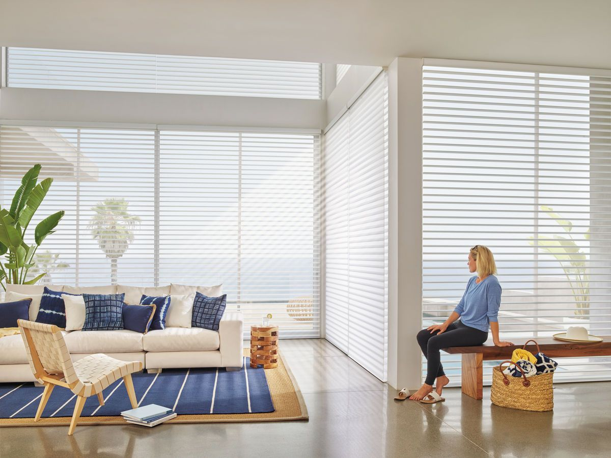 Like the look of the typical horizontal blinds but want something