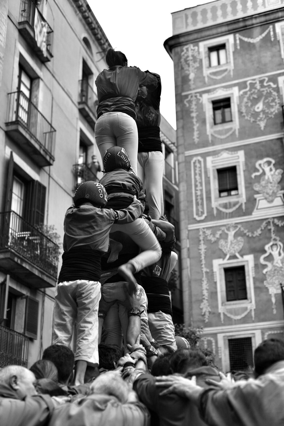 Castellers - Barcelona Navigator
