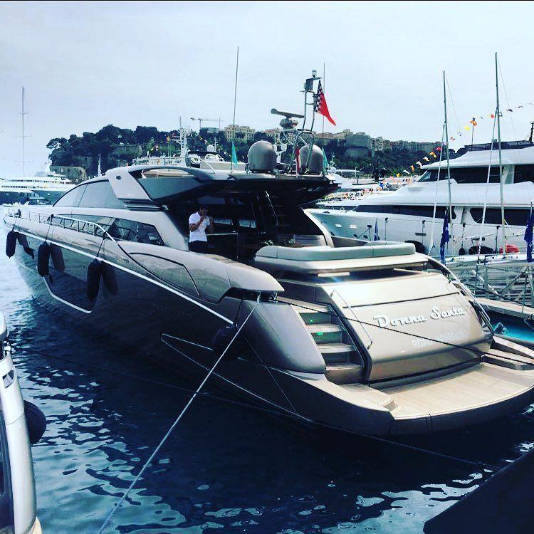 Rica Domino 88 at the Monaco Gran Prix @ferrettigroup #raywhitemarine ------------------------------------------------------ #monaco #monacogp #ferrari #yacht #boat #oceanmedia #superyacht #ferretti #raywhite #luxury #sydney #vip #instagood #real #love #ocean #motorboat #luxurylife #boatinternational #realestate #boatshow #instadailyyachts #monacoyachtshow #supercar #france #frenchriviera #riva #monacoyachtclub #navetta #love by walfordyachts