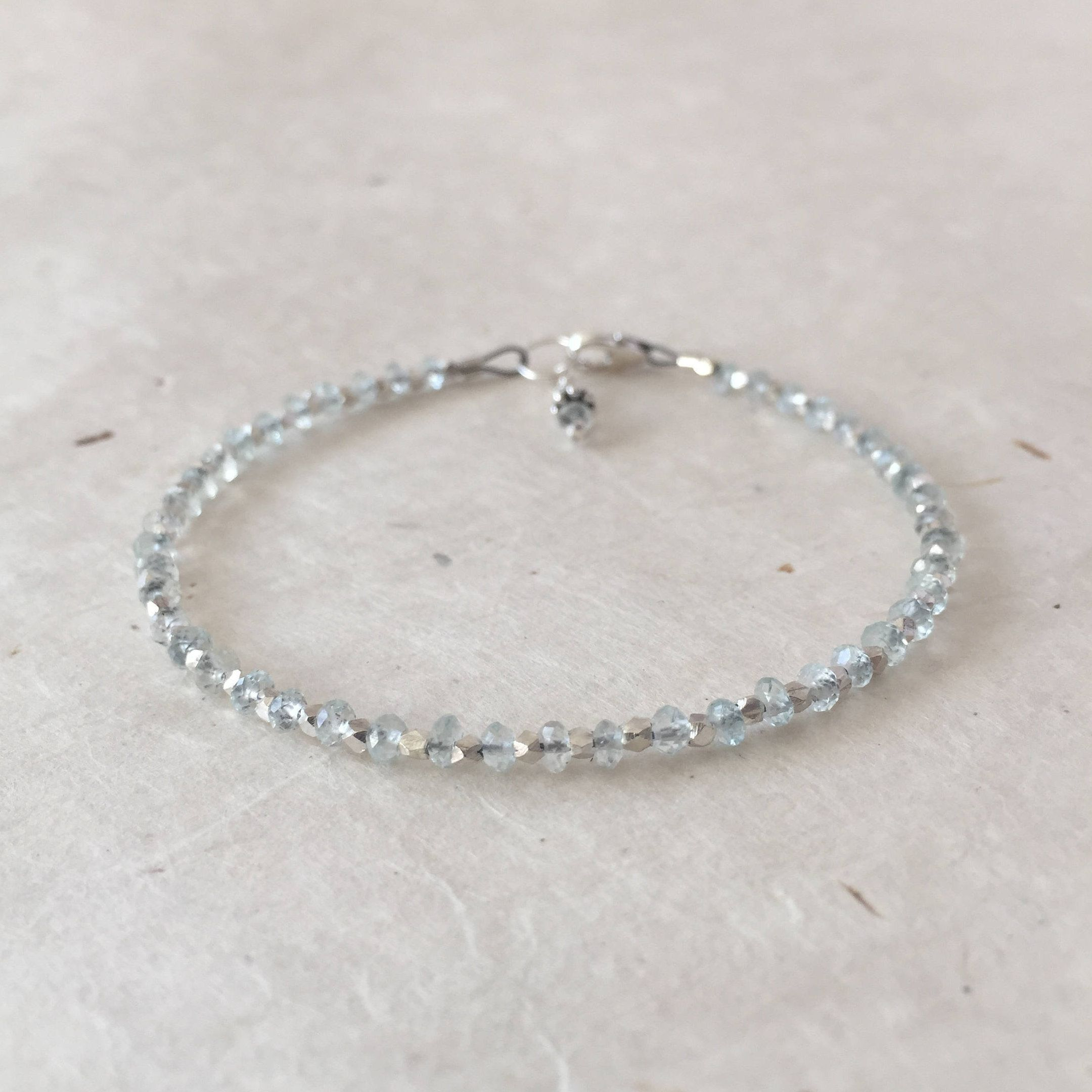 fresh chain silver pearls anklet eur water necklace necklaces and with en aquamarine